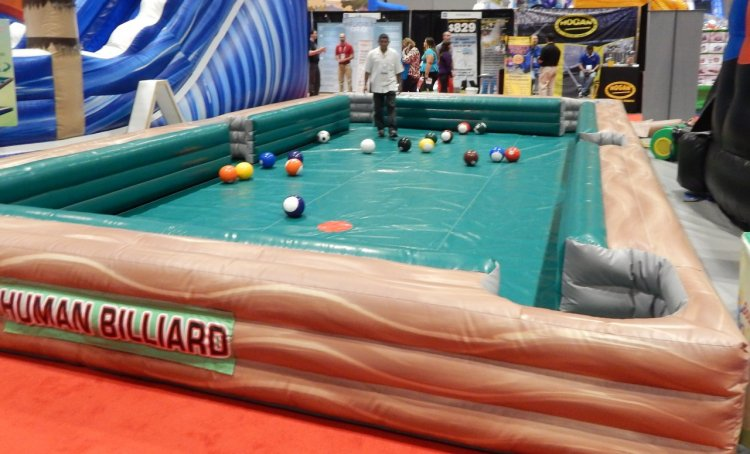 Giant Human Billiards