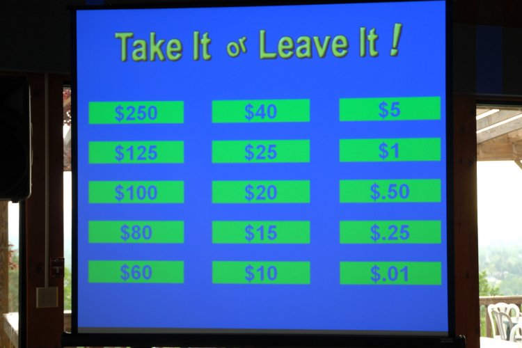 Game Show - Take It Or Leave It