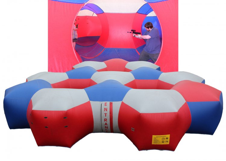 Laser Tag-Inflated