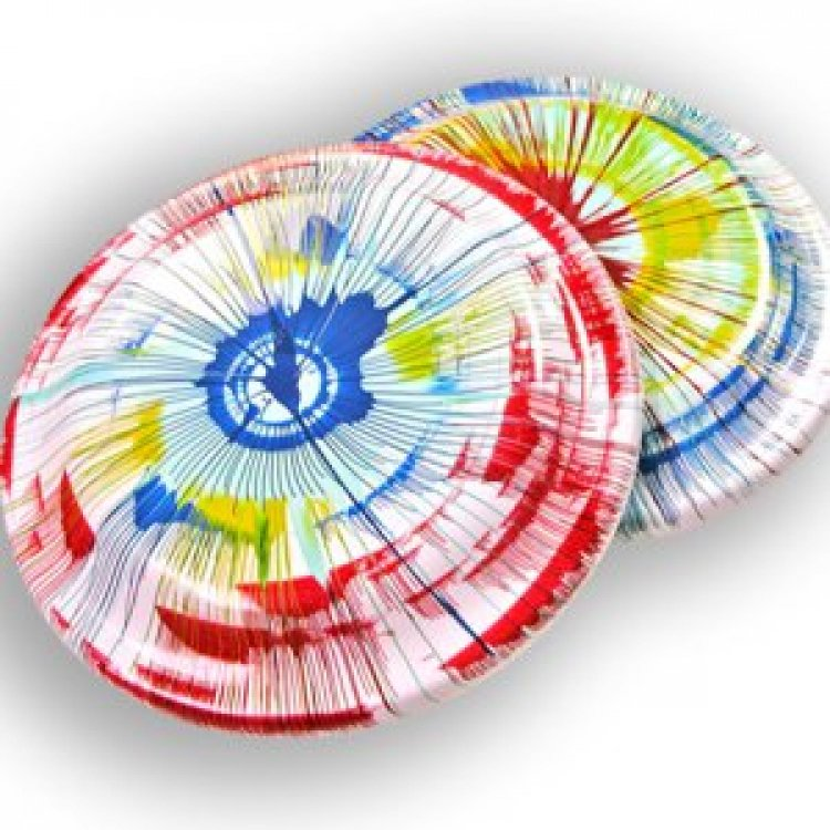 Spin Art - Frisbee
