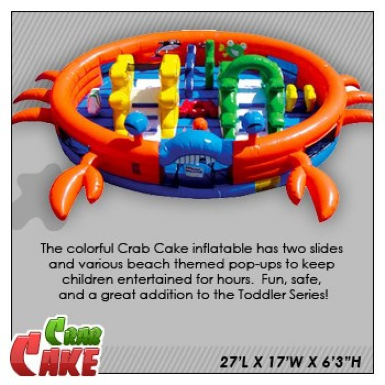Crab Cake Play and Bounce