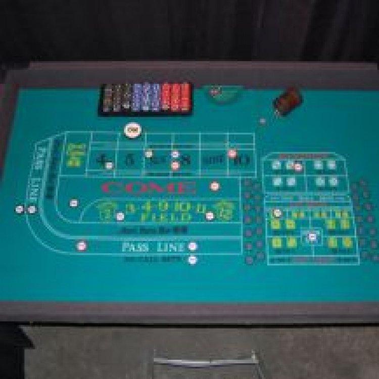 Casino - Craps Table