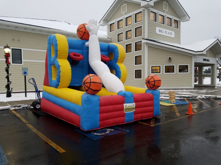 Inflated Basketball Challenge - 2 person