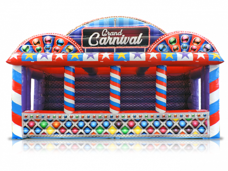 Inflated Carnival Tent