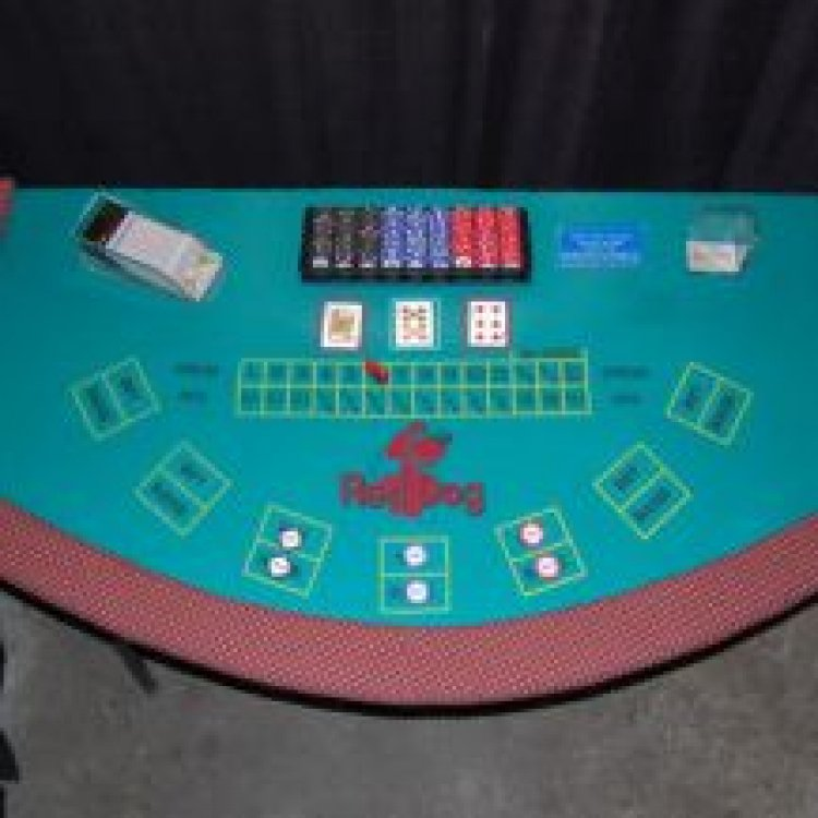 Casino - Red Dog Table